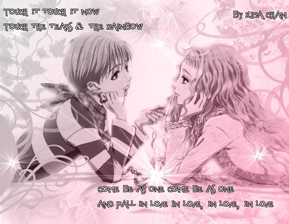 Shin e Reira tears and Rainbow by KiraSuzuki ...