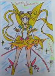 Selenit Saturn (Sailor Moon) Season 1 by Selenit-Saturn