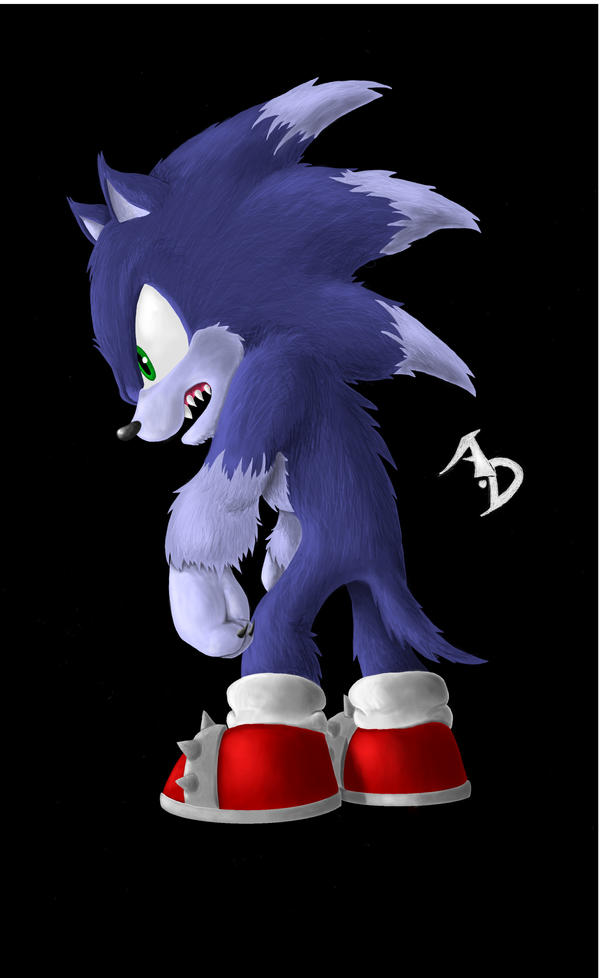 Sonic the werehog colour by AbsoluteDream on DeviantArt  Sonic