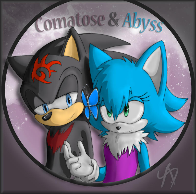 Gift:  Comatose and Abyss by AbsoluteDream