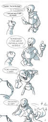 Papyrus's New Fan:  Part 2 of 3 by AbsoluteDream