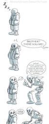 UnderTale Comic: Sleep Walking Problem by AbsoluteDream