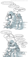Undertale Comic:  Two Brothers
