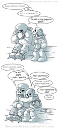 Undertale Comic:  Two Brothers by AbsoluteDream