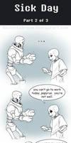 UT Comic: Sick Day Part2