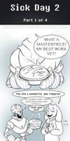 UT Comic: Watch Your Health:  Part1