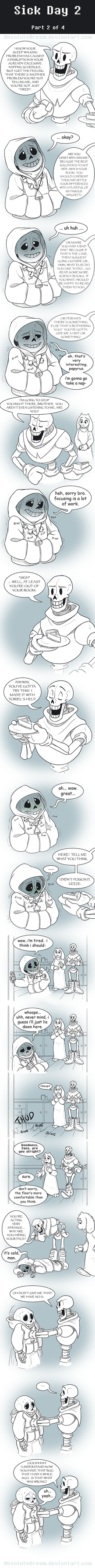 UT Comic: Watch Your Health:  Part2 by AbsoluteDream