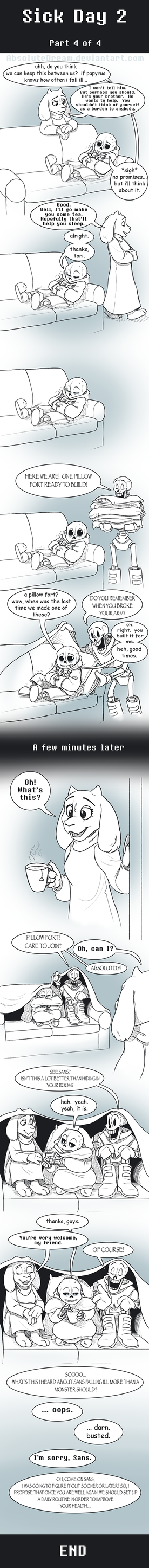 UT Comic: Watch Your Health:  Part4 by AbsoluteDream