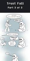 UT Comic:  Trust Fall - Part 3 of 3