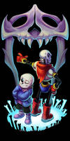 The Skelebros by AbsoluteDream