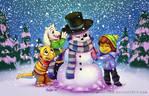 Sansy the snowman