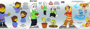 OTV Comic:  Main Characters by AbsoluteDream