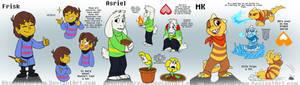 OTV Comic:  Main Characters