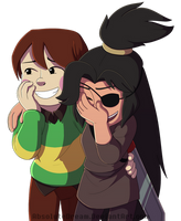 INTERLOPERS: What's so funny by AbsoluteDream