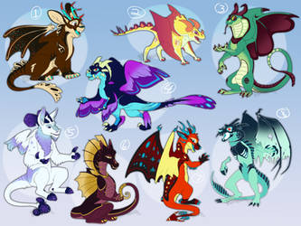 PayPal Dragon Adoptables - CLOSED by AbsoluteDream