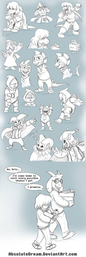 Deltarune Sketches