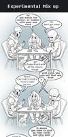 SOUL comic: Experimental mix up