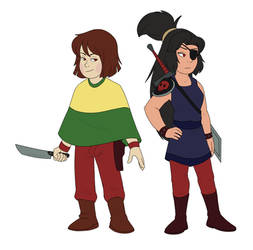 Older Chara and Buddy Concept