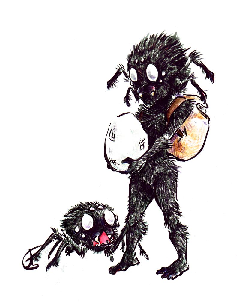 Spider Friends by Lost-Opium