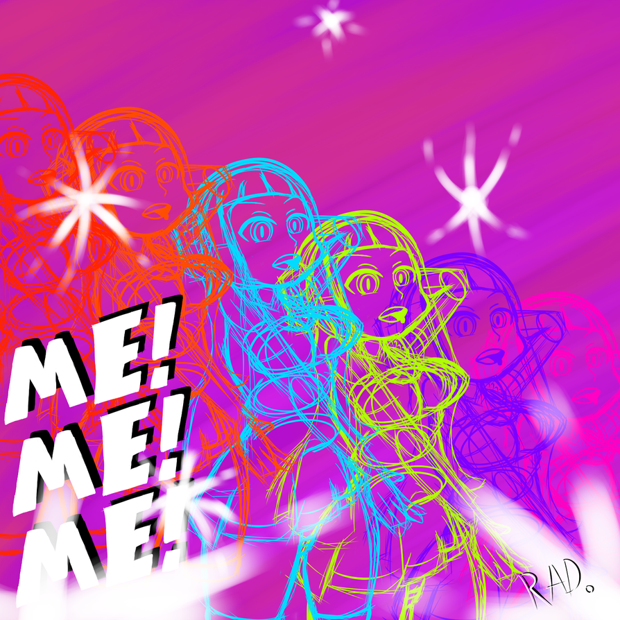 ME!ME!ME! Spectrum by Robot-and-Alien-Dude