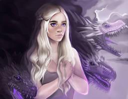 Daenerys Stormborn by Mahfiruze
