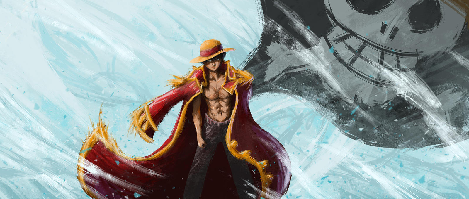 Monkey D Luffy The Pirate King By Yarigrafight On Deviantart