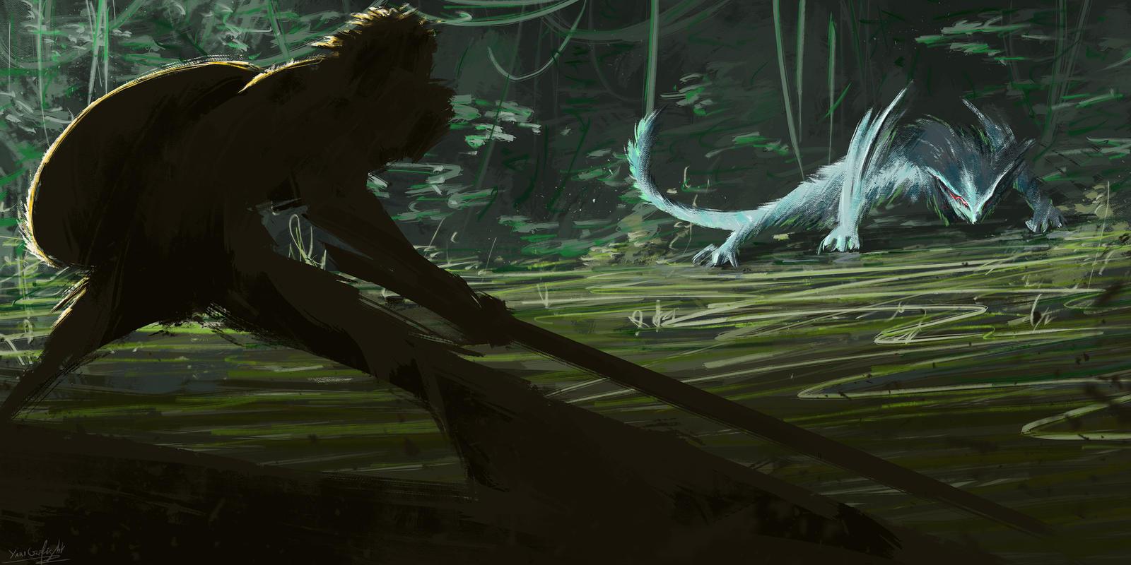 Teaser - 00 - The Pillar's Beast by YariGrafight
