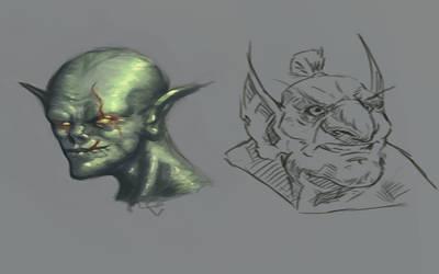 Goblins by iKEETart