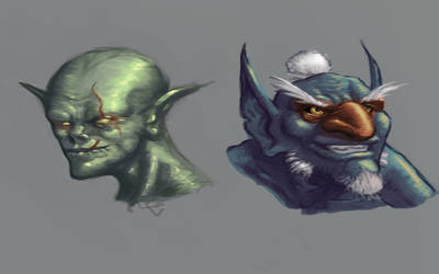 Goblins 2 by iKEETart