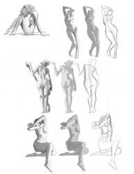 Gestures by iKEETart