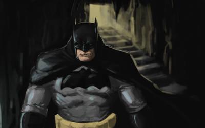 Batman by iKEETart
