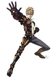 Genos One Punch Man by alanwandingo