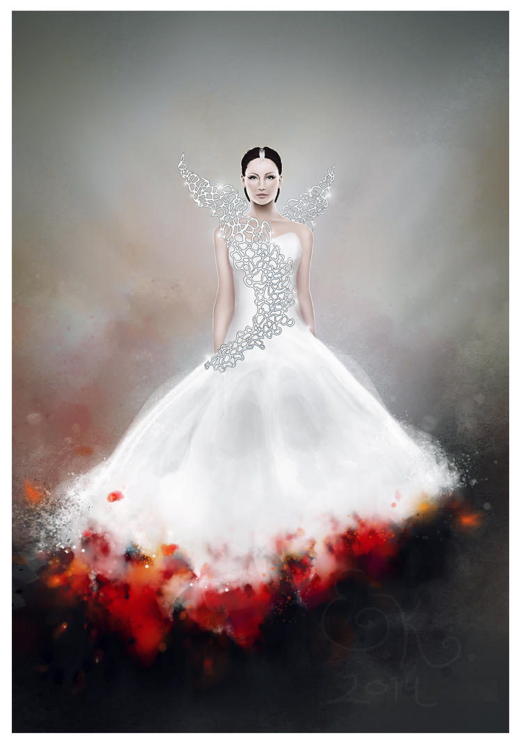 Catching fire - Katniss in her