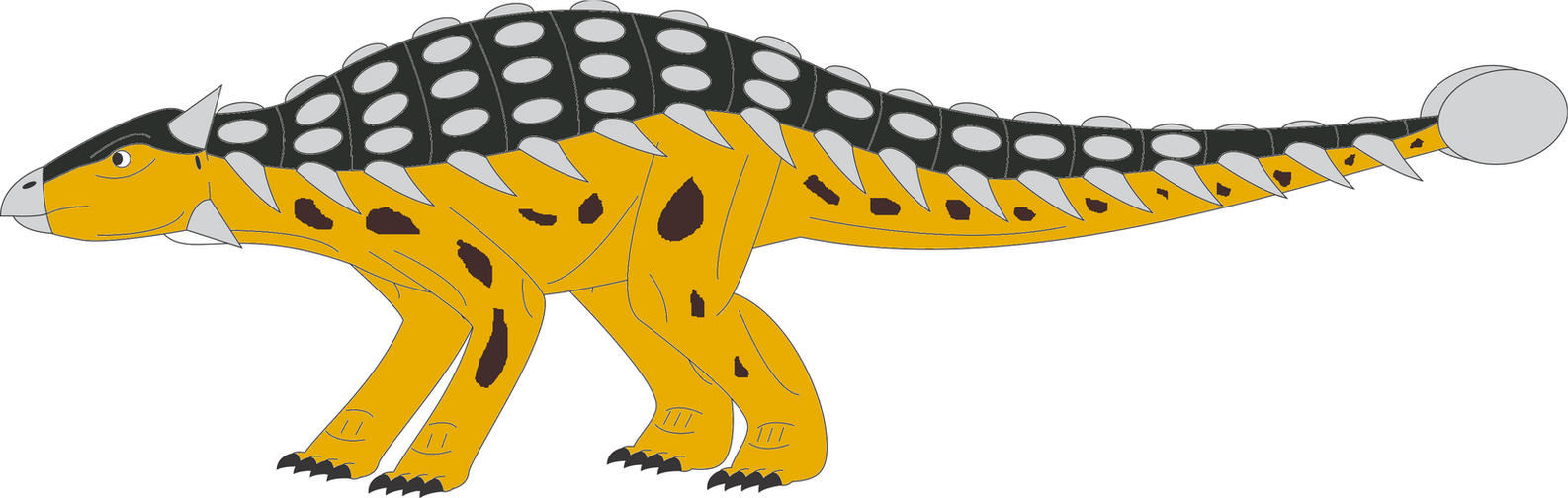 Walking with dinosaurs Ankylosaurus by ninjakingofhearts ...
