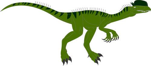 When dinosaurs roamed america's Dilophosaurus by ninjakingofhearts