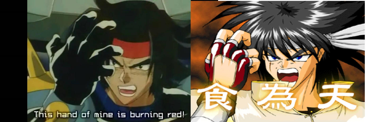 Domon and Hao are fighters by ninjakingofhearts