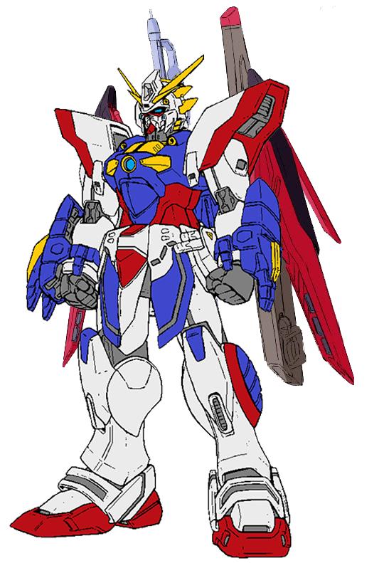 Shining Gundam Mk 2 by ninjakingofhearts