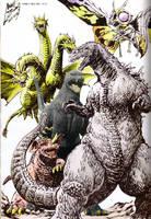 Godzilla Jr in GMK 5