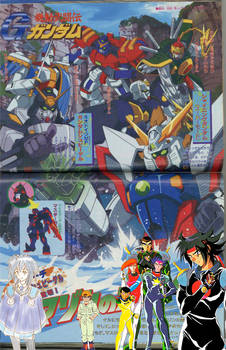 G-Gundam crossover 8