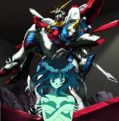 Bright new star, The birth of the Burning Gundam 2