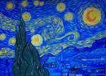 STARRY NIGHT-VAN GOGH TRIBUTE by wwwEAMONREILLYdotCOM