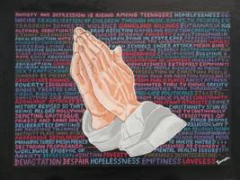 WE'VE GOT TO PRAY JUST TO MAKE IT TODAY by wwwEAMONREILLYdotCOM