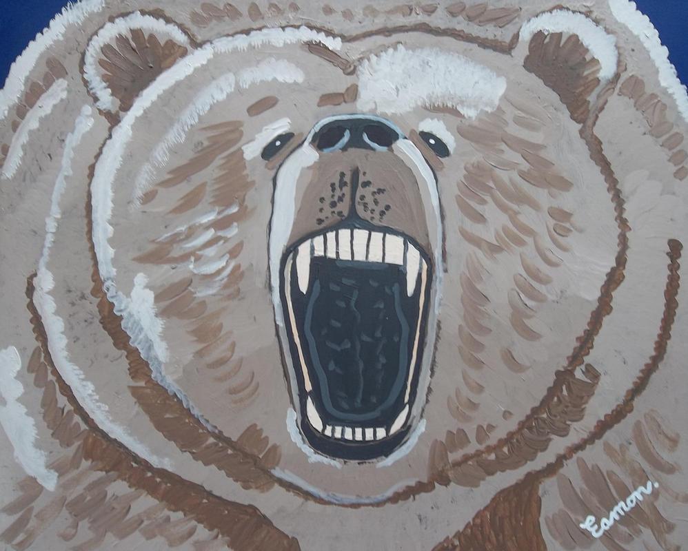 GRIZZLY BEAR by wwwEAMONREILLYdotCOM