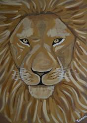 LION - THE REAL ALPHA MALE by wwwEAMONREILLYdotCOM