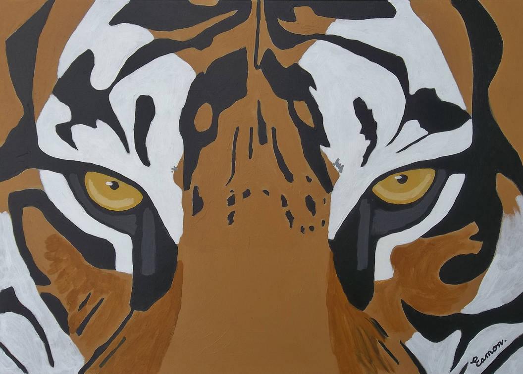 EYE OF THE TIGER by wwwEAMONREILLYdotCOM