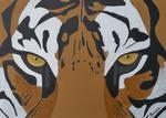 EYE OF THE TIGER by EamonReillyArtist