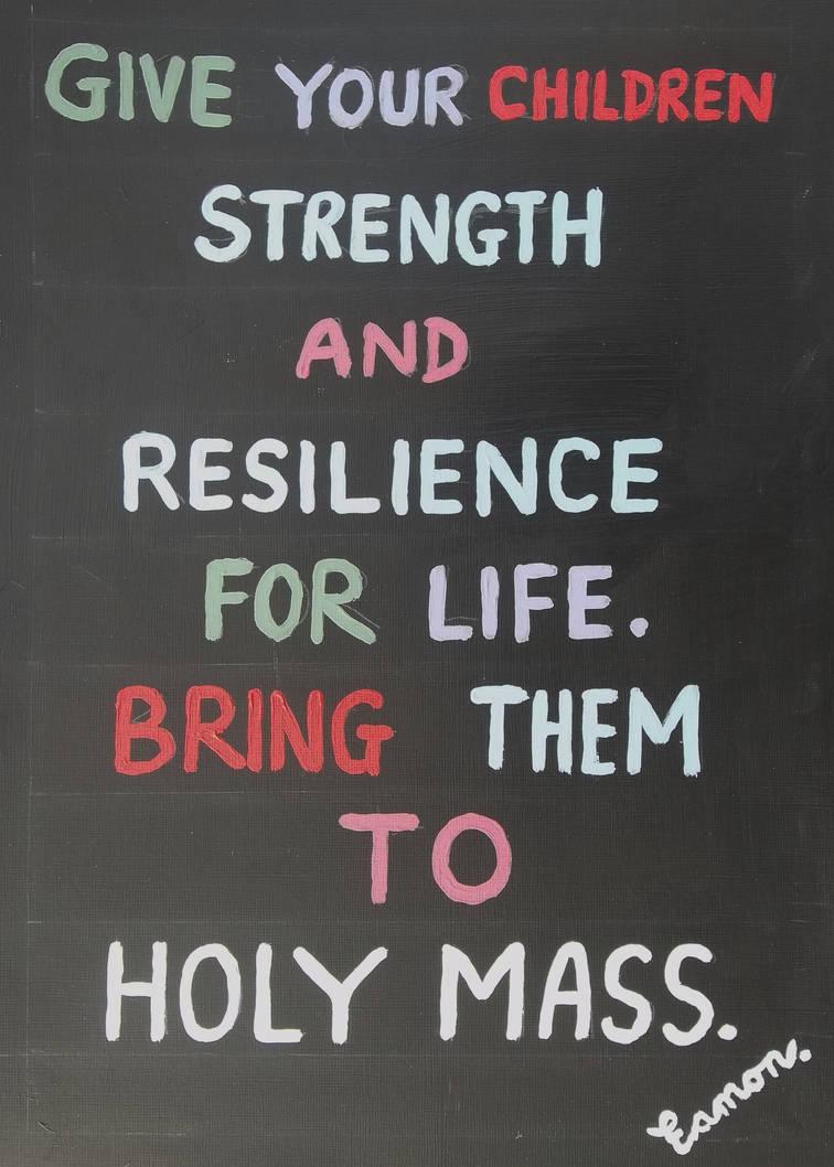 COME BACK TO HOLY MASS TOO by wwwEAMONREILLYdotCOM
