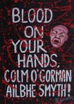 TWO BLOODY-HANDED EGOMANIACS by wwwEAMONREILLYdotCOM