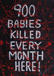 900 BABIES KILLED EVERY MONTH IN IRELAND by wwwEAMONREILLYdotCOM