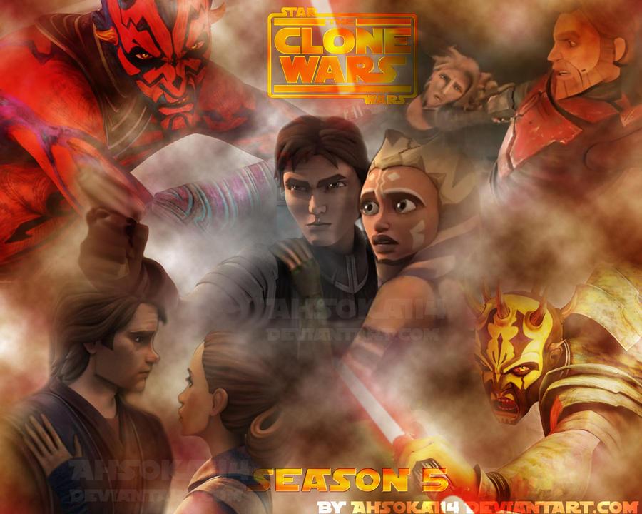 Clone Wars Season 5 Poster by Ahsoka114 on DeviantArt